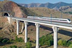 Treno di velocità Fotografie Stock Libere da Diritti
