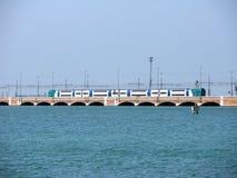 Treno di Venezia Immagini Stock