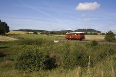 Treno diesel Immagini Stock