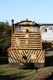Treno diesel Fotografie Stock