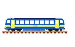 Treno diesel immaginario fotografia stock libera da diritti