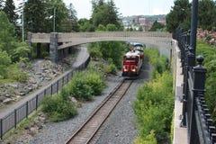Treno a Duluth, MN Fotografia Stock Libera da Diritti