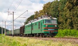 Treno elettrico del trasporto immagini stock