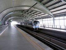 Treno elettrico in Tailandia Fotografia Stock