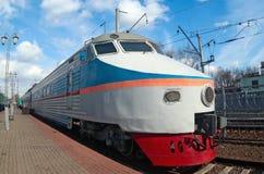 Treno ER-200 Fotografia Stock Libera da Diritti