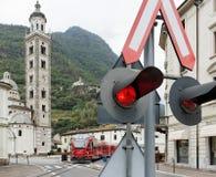 Treno espresso di Bernina Immagini Stock