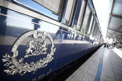 Treno espresso di oriente Immagine Stock Libera da Diritti