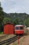 Treno ferroviario Fotografia Stock Libera da Diritti