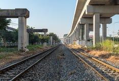 Treno ferroviario fotografie stock libere da diritti
