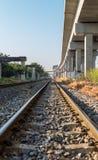 Treno ferroviario Immagini Stock Libere da Diritti