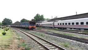 Treno fra Nakhonsawan e Chiang Mai stock footage