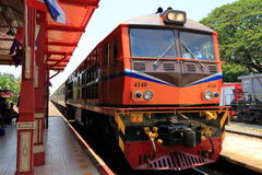 Treno Hua Hin immagine stock libera da diritti