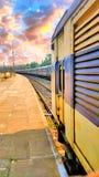 Treno indiano immagini stock