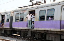 Treno indiano Fotografia Stock