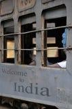 Treno indiano Fotografia Stock Libera da Diritti