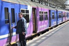 Treno in Inghilterra Immagine Stock Libera da Diritti