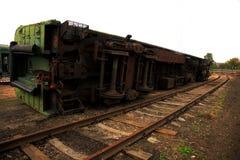 Treno invertito Immagini Stock