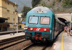 Treno italiano Fotografie Stock