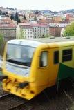 Treno locale Fotografia Stock