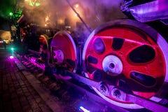Treno locomotivo sovietico fotografia stock libera da diritti