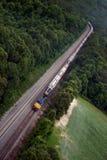 Treno lungo Immagini Stock Libere da Diritti