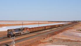 Treno lungo Immagine Stock Libera da Diritti
