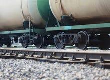 Treno merci Fotografia Stock