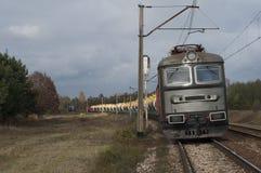 Treno merci Immagine Stock Libera da Diritti