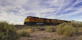 Treno merci all'alta velocità Immagine Stock Libera da Diritti