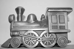 Treno miniatura Immagine Stock