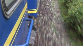 Treno nel Perù stock footage