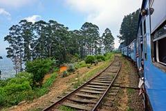 Treno nella giungla Fotografia Stock Libera da Diritti