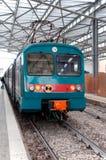 Treno nella stazione Immagine Stock Libera da Diritti