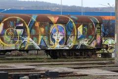 Treno numero 2 immagine stock