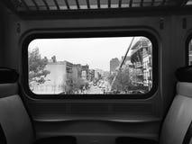 Treno in NYC Fotografie Stock Libere da Diritti