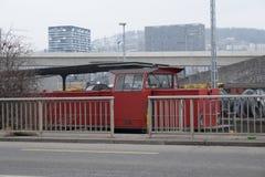 Treno parcheggiato Immagini Stock Libere da Diritti