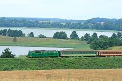 Treno passeggeri Fotografia Stock