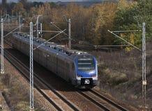 Treno passeggeri Fotografia Stock Libera da Diritti