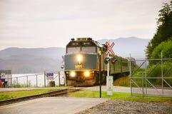 Treno passeggeri a principe George Immagini Stock