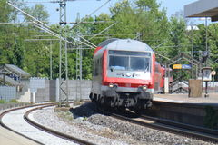Treno passeggeri tedesco di DB Immagini Stock Libere da Diritti