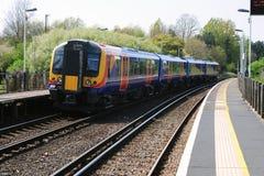 Treno pendolare Immagine Stock