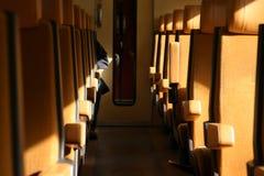 Treno pendolare Fotografie Stock