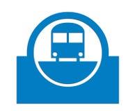 Treno pendolare Immagini Stock Libere da Diritti
