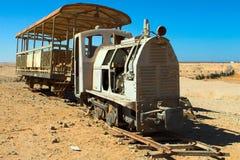 Treno perso Fotografie Stock