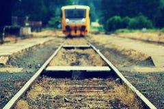 Treno regionale Fotografia Stock Libera da Diritti