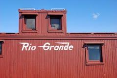 Treno Rio Grande del carbone del Colorado Immagini Stock
