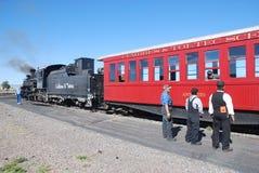 Treno Rio Grande del carbone del Colorado Fotografia Stock
