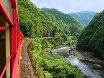 Treno romantico Fotografia Stock