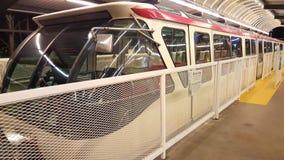 Treno rosso Immagine Stock