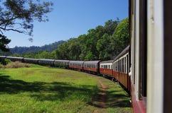 Treno scenico di Kuranda in Australia Fotografie Stock Libere da Diritti